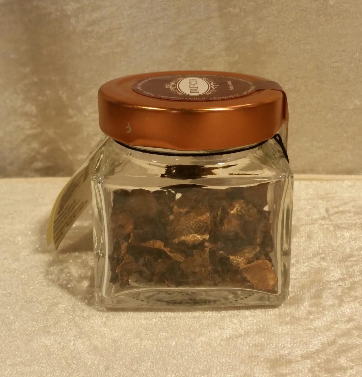 Copeaux de truffes noires déshydratées