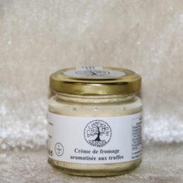 crème de fromage aux truffes