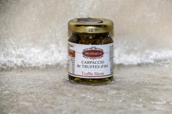 Carpaccio de truffes d'été